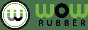 WOWRubber Logo Black